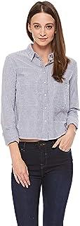 Lee Cooper Shirt for Women - White/Blue