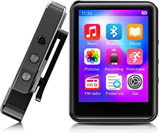 MP3Player, MP3 Player with Bluetooth, 32GB Portable Music Player with FM Radio/Recorder, HiFi Lossless Sound Quality, 2.4I...