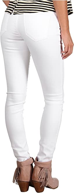 The Spray-On Super Skinny Jean in White Lines