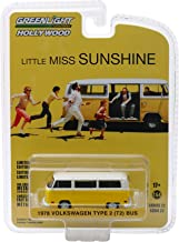 1978 Volkswagen Type 2 (T2) Bus Yellow with White Top Little Miss Sunshine (2006) Movie Hollywood Series 22 1/64 Diecast Model by Greenlight 44820 C