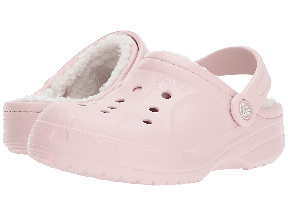 Crocs Kids Ralen Lined Clog (Toddler/Little Kid) (Cotton Candy/Oatmeal) Kid