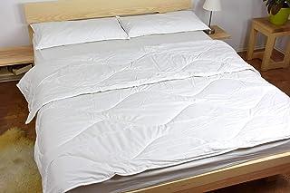 Couette légère Ninaja - Pure Laine - Coton Bio - 100% Naturelle - 200g/m² - 240x220cm