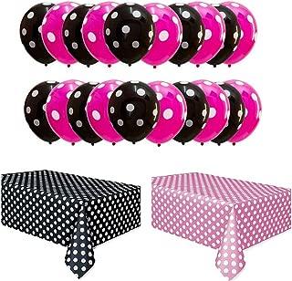 CheeseandU Polka Dots Party Set Including 50Pcs 12