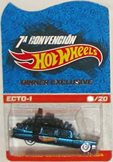 ECTO-1 Hot Wheels 2014 Mexico 7th Convention Ghostbusters ECTO-1 Very Rare Limited Edition 1:64 Scale Collectible Die Cast Car - Only 20 Made Worldwide!!! Code-3