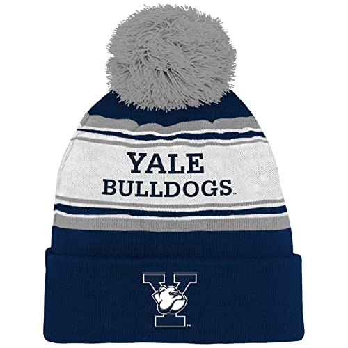 28ddb7dd43e NCAA by Outerstuff NCAA Kids   Youth Boys Cuffed Knit with Pom Hat