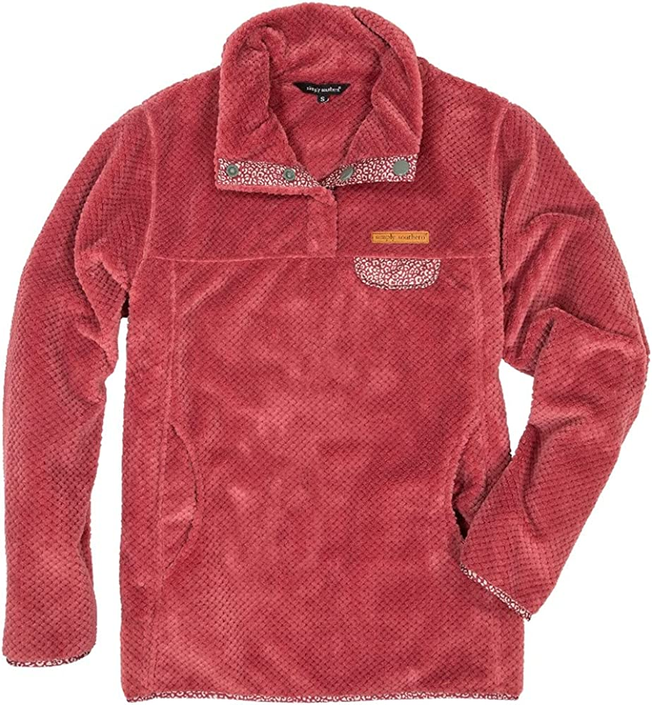 Simply Southern SS Maroon Supersoft Pullover