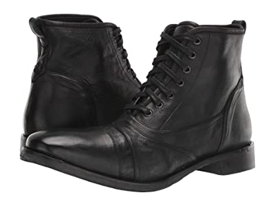 John Varvatos Collection Fleetwood Lace Boot (Black) Men