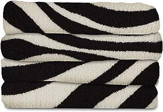 Sunbeam Heated Throw Blanket   Microplush, 3 Heat Settings, Zebra - TSM8TP-R901-25B00
