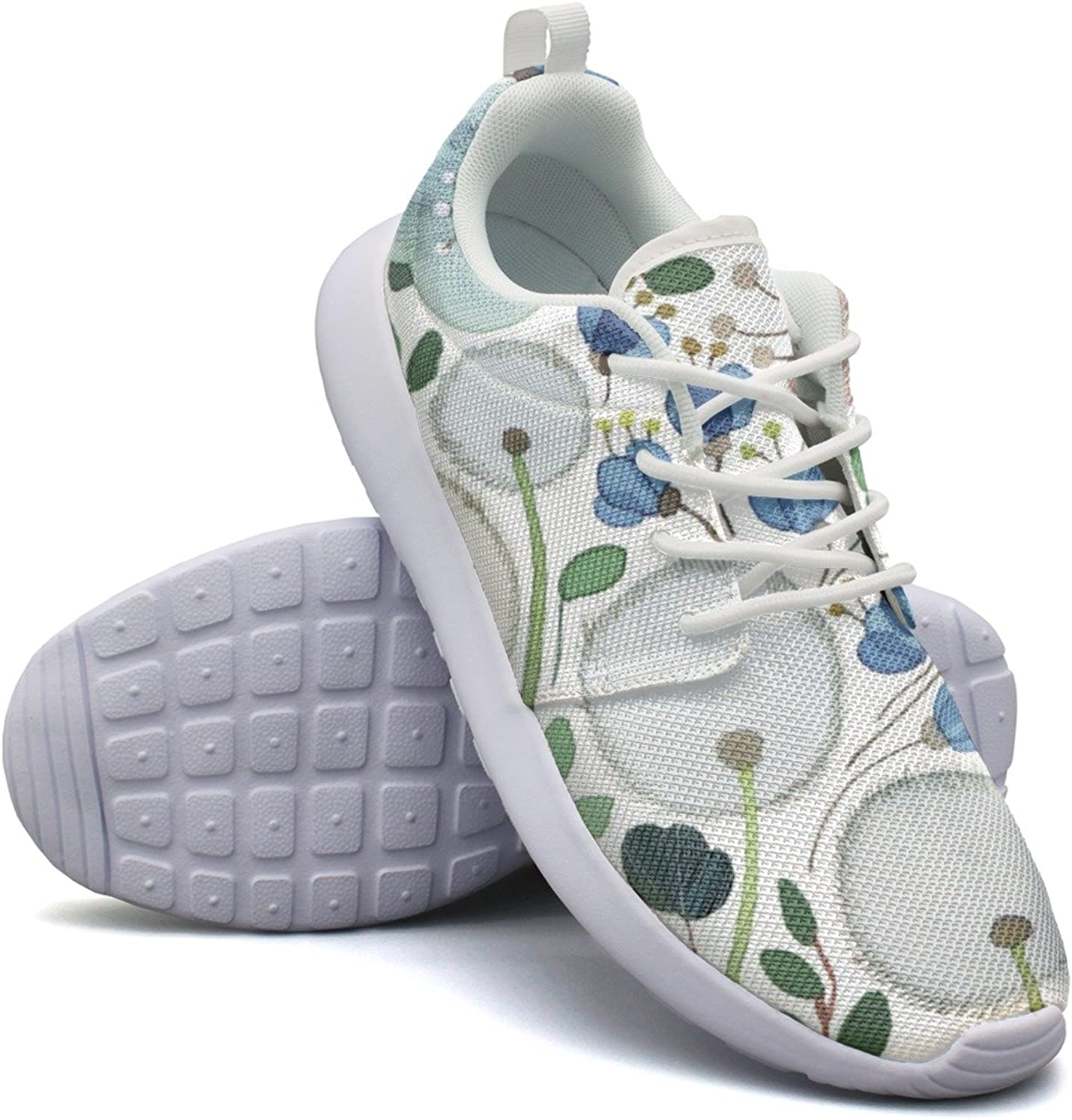 Dandelion Flowers Woman's Net Casual Running shoes Novelty Active