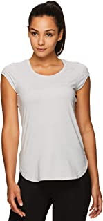 Reebok Women's Legend Running & Gym T-Shirt - Performance Short Sleeve Workout Clothes for Women