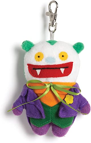 hasta 60% de descuento Gund Uglydoll DC Comics Big Toe as Joker Backpack Clip Clip Clip Plush  el mas reciente