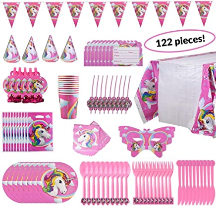 3e9ff216cb3 SALE! Newly Marked Down Price  Rainbow Unicorn Party Supplies for All Ages   Kids