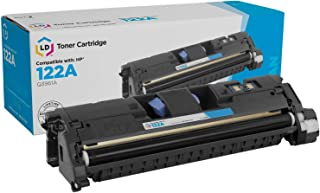 LD Remanufactured Toner Cartridge Replacement for HP 122A Q3961A (Cyan)