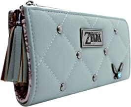 Legend of Zelda Ocarina of Time Navi Fairy Green Coin & Card Clutch Purse