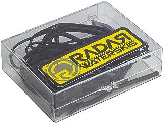 Radar Lace Lock Kit - Black (1 pair lace - 1 pair bungee and locks) 1