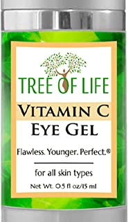 Vitamin C Eye Moisturizer Gel for Face and Skin
