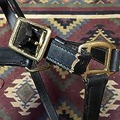 Royal King Leather Stable Halter Horse 44-2021-2-0 Black