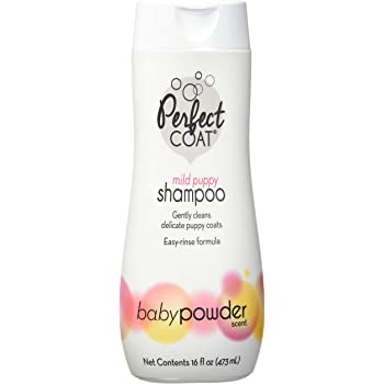Perfect Coat Pampered Puppy Shampoo, Baby Powder Scent