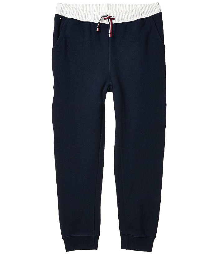 Tommy Hilfiger Adaptive  Adaptive BoysJogger Pants with Elastic Waist (Little Kids/Big Kids) (Sky Captain) Mens Casual Pants