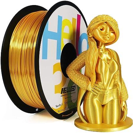 2.2Lbs 3D Printer Filament Silk Silk LightGold 1kg Silky Shiny Filament PLA for 3D Printers and Pens //Spool SUNLU Silk PLA Filament 1.75mm