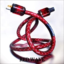 DH Labs RED WAVE AC Power Cable 2.0 meter by Silver Sonic