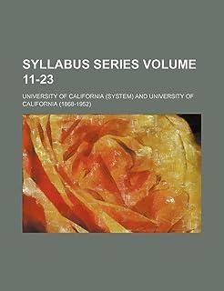 Syllabus Series Volume 11-23