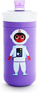 Munchkin Twisty Mix & Match Character Sippy Cup, 9 Oz, Purple