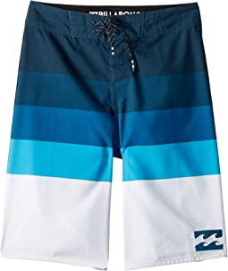 Midway Stripe Boardshorts (Big Kids)