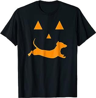 Halloween Pumpkin Dachshund Jack-o-lantern T-shirt Costume