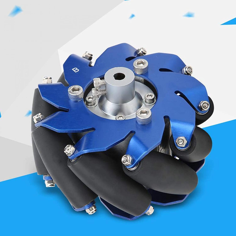 4in Macanum Wheel, 45 Degree Omnidirectional Wheel Wheel Couplin