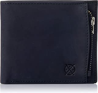 Stitch & Hide Men's Fred wallet Wallets, Navy, One Size