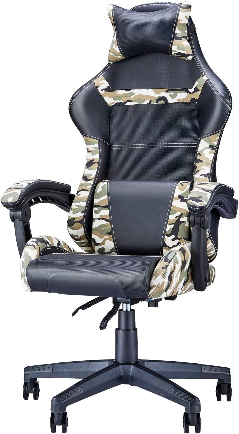PC Game Chair Our shop most popular Ranking TOP7 Camo Camouflage Video Gaming Computer Office