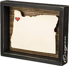 Primitives by Kathy 27808 Wanderlust Inset Box Sign, Oregon