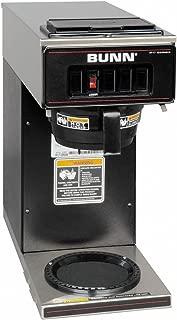 BUNN 13300.0011 VP17-1BLK Pourover Coffee Brewer with 1 Warmer, Black (120V/60/1PH)