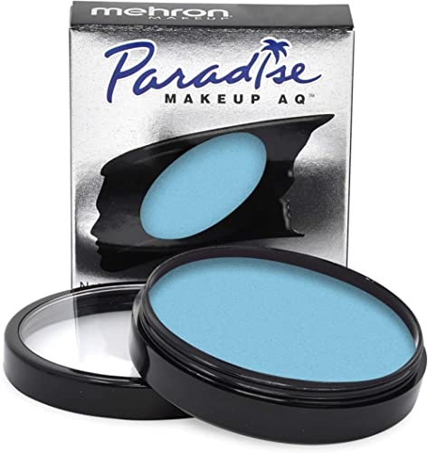 Mehron Makeup Paradise Makeup AQ Face & Body Paint (1.4 oz) (Light Blue)