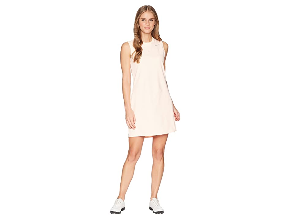 Nike Golf Flex Sleeveless Dress (Crimson Tint/Flat Silver) Women