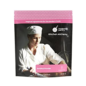 Pure Sorbitol Powder ☮ Vegan ❤ Gluten-Free ✡ OU Kosher Certified - 1kg/2.2lbs/36oz