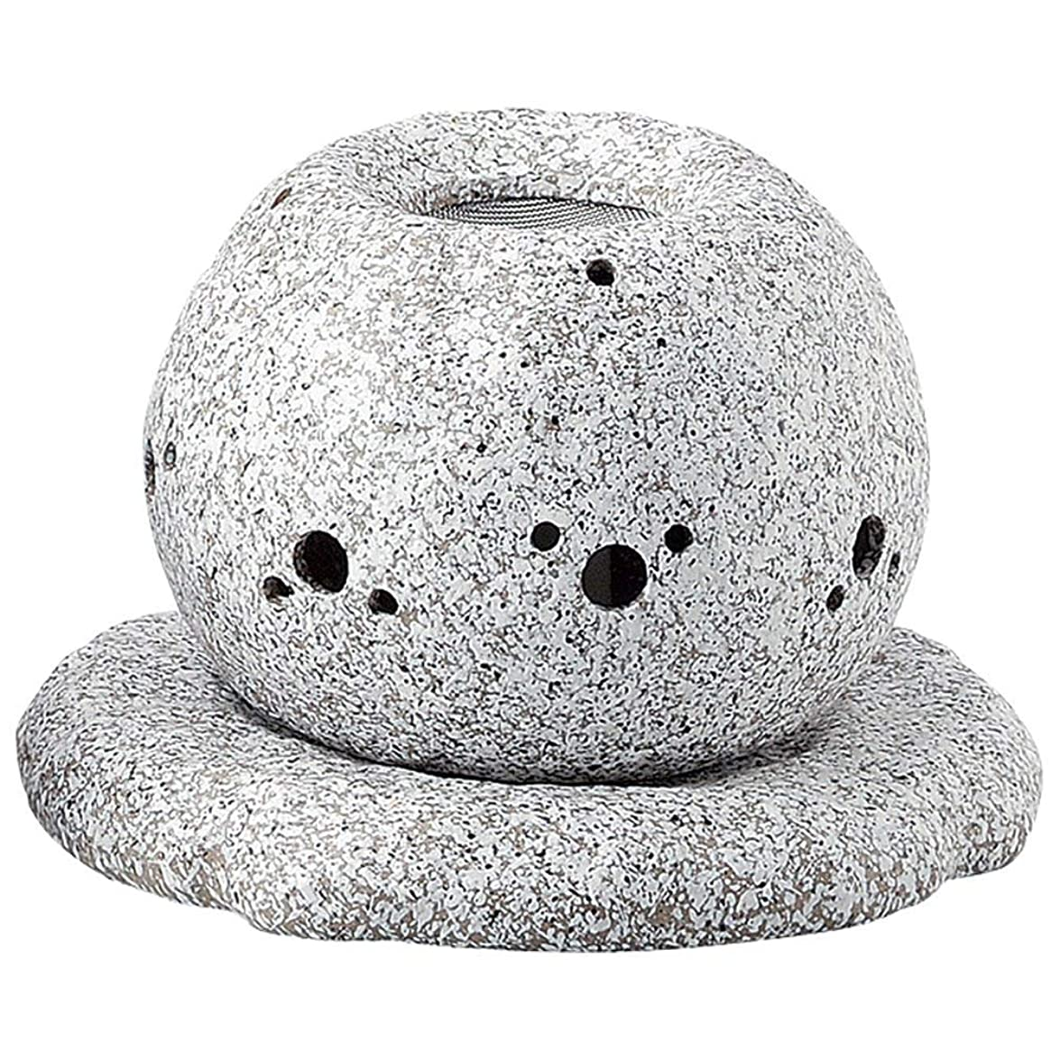 便利予算ぬれたYI--Y-1628 常滑焼 電気式茶香炉 径14×高さ11.5cm