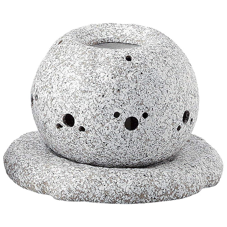 と遊ぶインデックスフレキシブルYI--Y-1628 常滑焼 電気式茶香炉 径14×高さ11.5cm