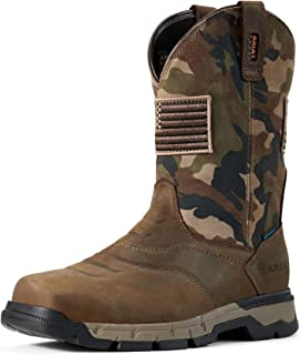 Men's Rebar Flex Patriot Waterproof Work Boot