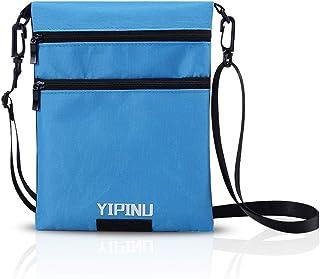 FANDARE パスポートケース 首下げ スキミング防止 防水 トラベルケース パスポート入れ 4-6インチ携帯に適用 旅行 首掛け 便利 貴重品入れ 軽量