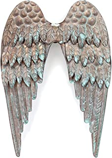BCI Crafts Salvaged Metal Angel's Wings, Acrylic, Multicoloured, 0.45 x 7.15 x 10.4 cm