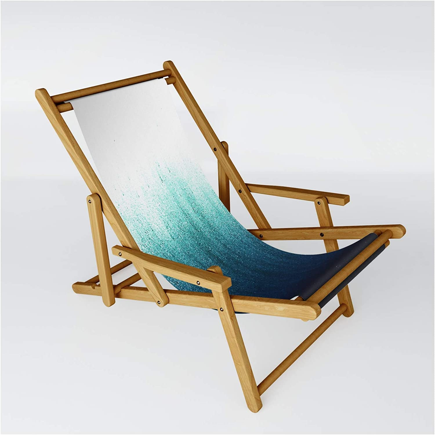 Ranking TOP9 Choice Society6 Teal Ombre by Caitlin Workman One - Size on Sling Chair