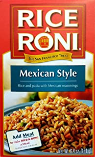 Rice-A-Roni MEXICAN STYLE Flavor 6.4oz (2 pack)