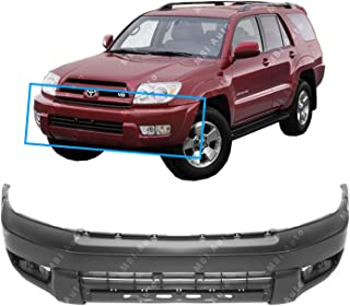 MBI AUTO - Primered, Front Bumper Cover Fascia for 2003 2004 2005 Toyota 4 Runner 03 04 05, TO1000260