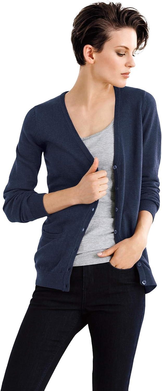 ellos Women's Plus Size Everyday Cardigan Sweater