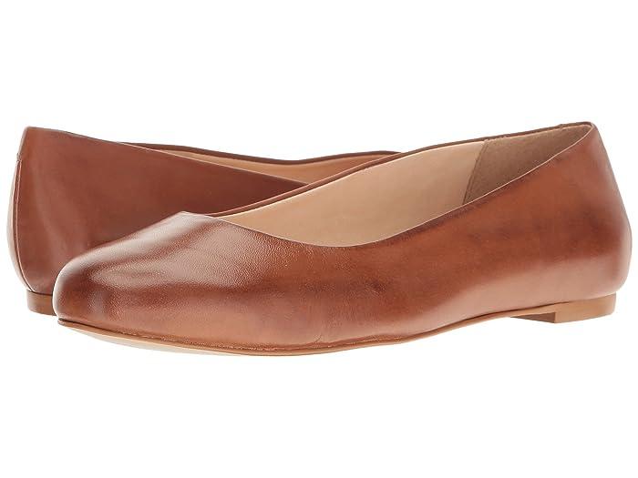 Walking Cradles  Bronwyn (Luggage Soft Maia) Womens Flat Shoes