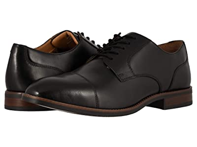 Nunn Bush Fifth Ave Cap Toe (Black) Men