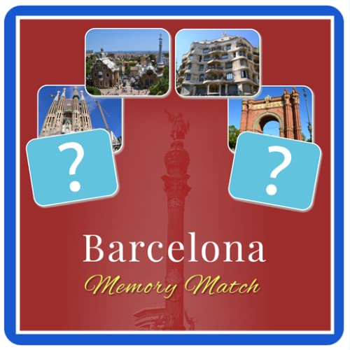 Barcelona Memory Match Game