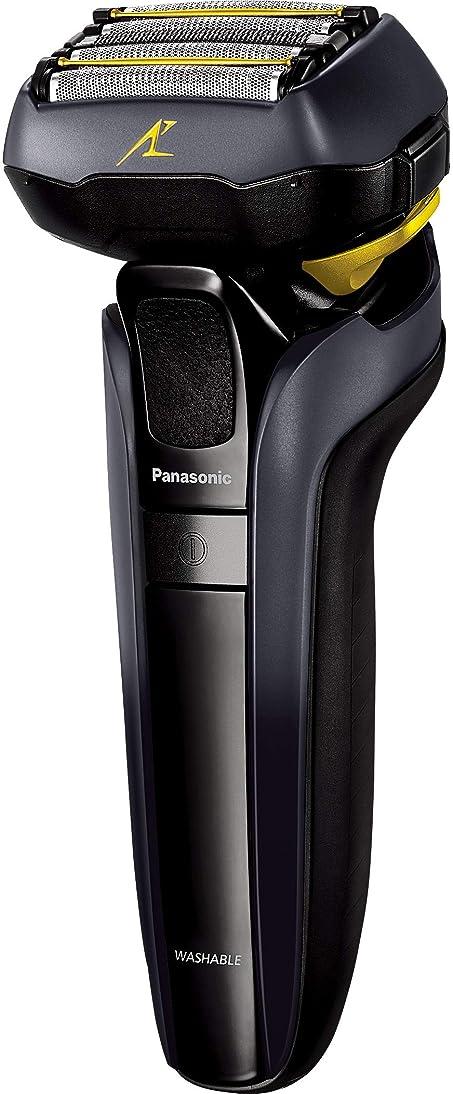 顔料出席するポンドパナソニック ラムダッシュ メンズシェーバー 5枚刃 黒 ES-LV5E-K